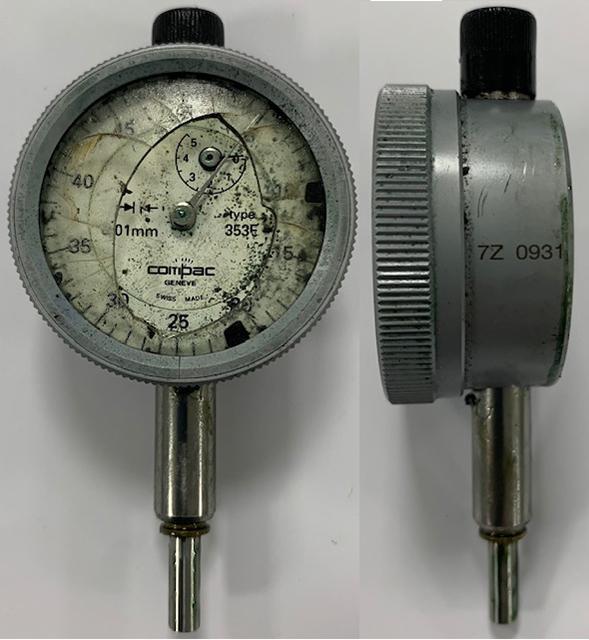 riparazione strumenti di misura prima della riparazione